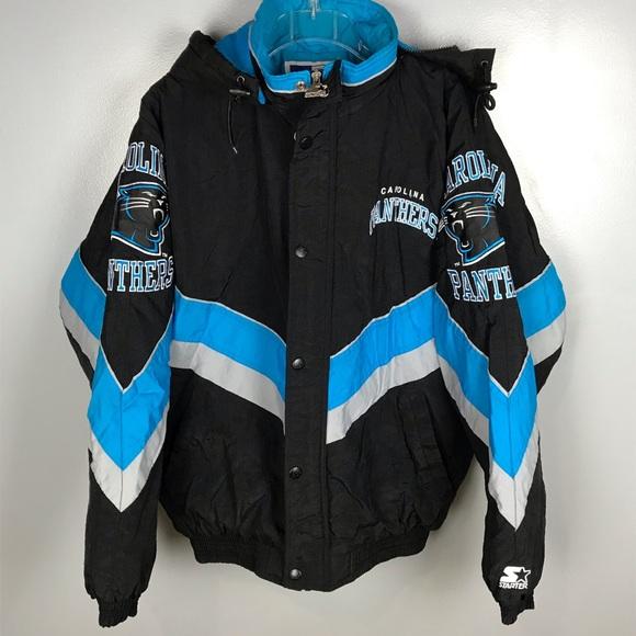 big sale da67d 11dfe Vintage Starter NFL North Carolina Panthers Jacket